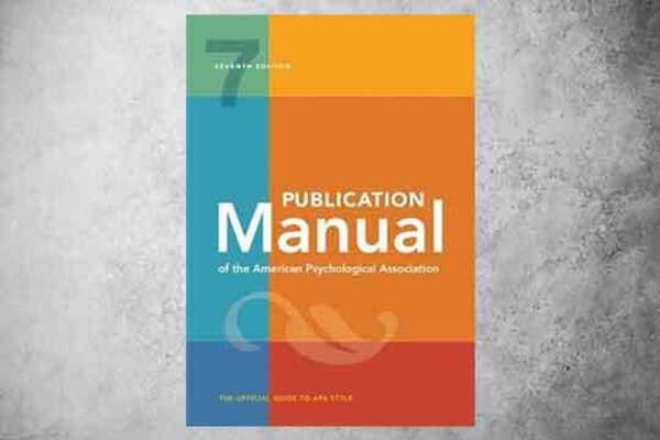 Medium book main image publication manual of the american psychological association