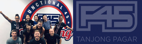 F45 Tanjong Pagar in now here, join the crew and have fun getting fit!